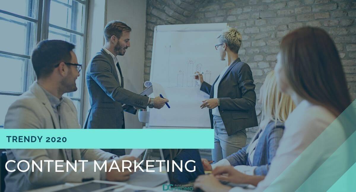trendy w content marketingu na 2020 rok