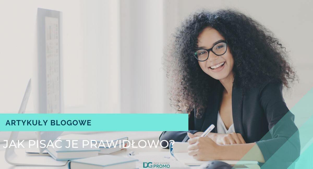 jak napisać artykuł blogowy?